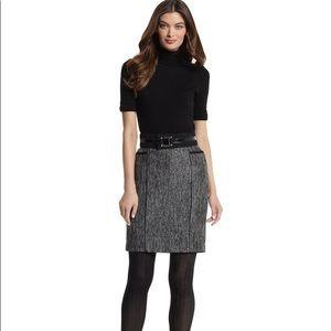 WHBM Lustrous Tweed pencil skirt